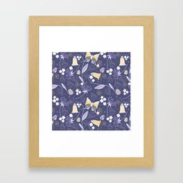 Garden and Gossamer  Framed Art Print