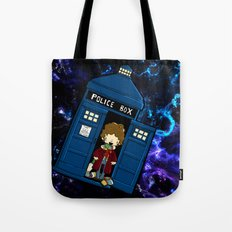 Tardis in space Doctor Who 4 Tote Bag