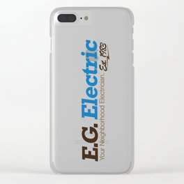 E.G. Electric Clear iPhone Case