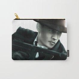 Johnny Depp// John Dillinger Carry-All Pouch
