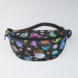 Dinosaur Astronauts In Outer Space Fanny Pack