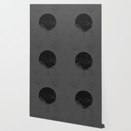 Black Japan Flag Wallpaper