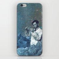 fullmetal alchemist iPhone & iPod Skins featuring THE ALCHEMIST by Julia Lillard Art