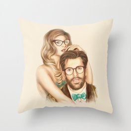 I love your Glasses Throw Pillow