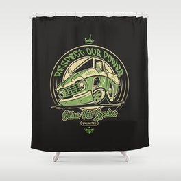 Classic Truck Shower Curtain