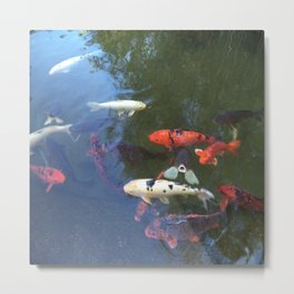 The Fishes Metal Print