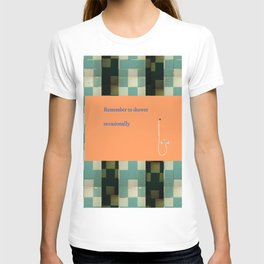Remember to shower T-shirt