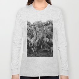 Prickly Pear Cactus Hedge. Sonoma 1905 Long Sleeve T-shirt