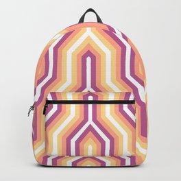 Retro Chevron Warm Backpack