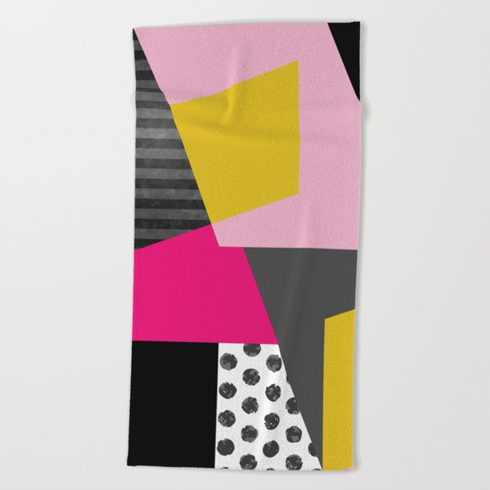 Geometric#13 Beach Towel