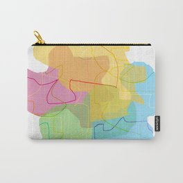 color shadows Carry-All Pouch