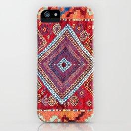 Adiyaman Antique Kurdish Turkish Rug iPhone Case