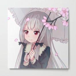 Tonari no Kyuuketsuki-san Metal Print