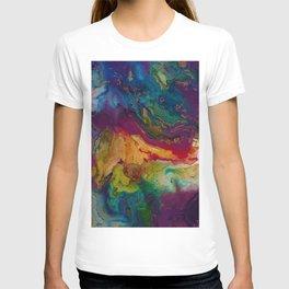 modern marble m T-shirt