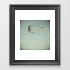 Gulls Framed Art Print