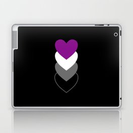 Asexuality in Shapes Laptop & iPad Skin