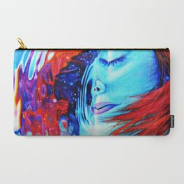 Underwater cosmic flames Carry-All Pouch