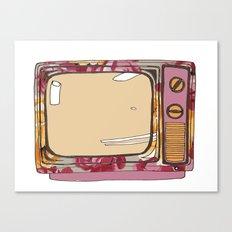 Tele mute Canvas Print