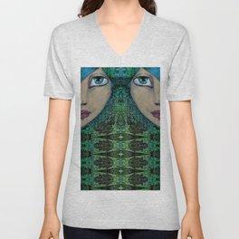 Jade Unisex V-Neck