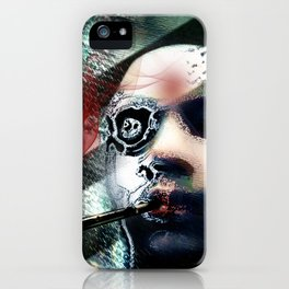 Abstraction, Distraction iPhone Case
