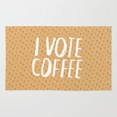 I Vote Coffee Rug