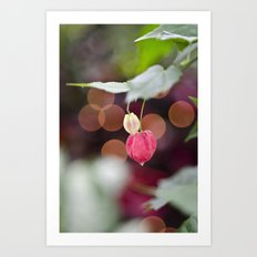 Festive Flowers Art Print