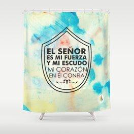 Mi Escudo Shower Curtain