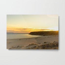Andalucian Beach | Bolonia Spain travel photography | Sunset art print Metal Print