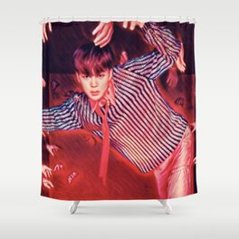 Empty-handed Shower Curtain