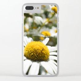 Daisy Flower Clear iPhone Case