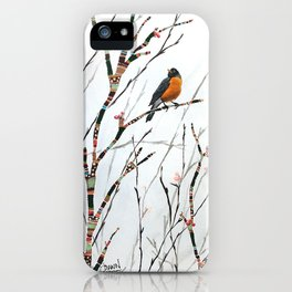 Harbinger of Spring iPhone Case