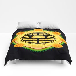 Goku's Kanji Comforters