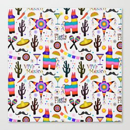 Fiesta Mexicana Canvas Print