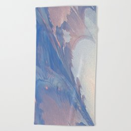 New Ice Light One Beach Towel