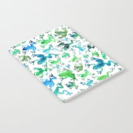 Tree Frogs Notebook