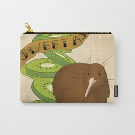 Kiwiana banner Series - Kiwi Carry-All Pouch