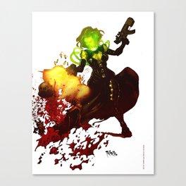 Anne Frankenstein AF2 Canvas Print