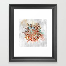 My God is the Sun Framed Art Print