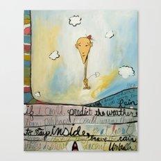 Brave The Rain Canvas Print