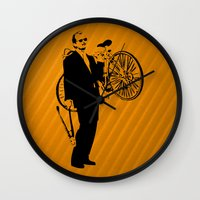 murray Wall Clocks featuring Bill Murray by Spyck