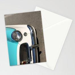 Vintage Car Headlight Stationery Cards