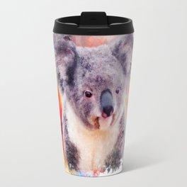 Watercolor Koala Travel Mug