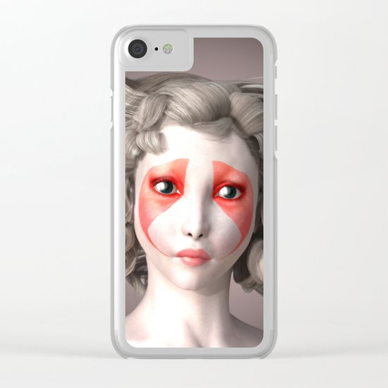 Japanese fashion model Clear iPhone Case