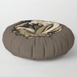 NEVERENDING FIGHT Floor Pillow