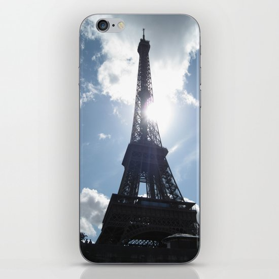 Eiffel Alight iPhone & iPod Skin