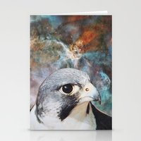 falcon Stationery Cards featuring Falcon by John Turck