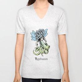 Typhaon Unisex V-Neck