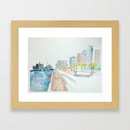 H20 Park Toronto Framed Art Print