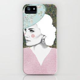 Princess Kate Middleton / Duchess of Cambridge Artwork / Fashion Dress / Wall Decor Art / Wedding Gr iPhone Case