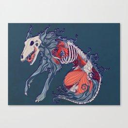 Void Hound Canvas Print